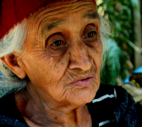 Reigna was homeless for 40 years